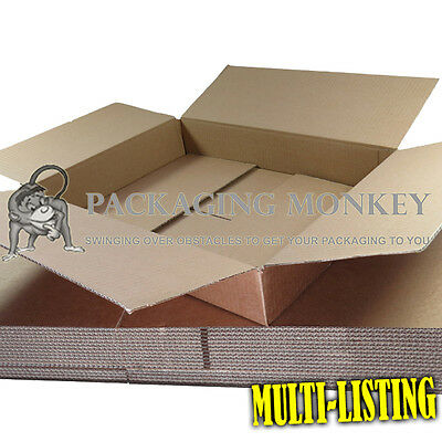 MAXIMUM SIZE ROYAL MAIL SMALL PARCEL 449 x 349 x 79mm CARDBOARD POSTAL BOXES