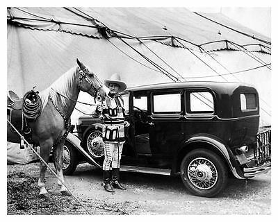 1930 Nash Factory Photo Western Actor Tom Mix ub2616-WQ8OOJ