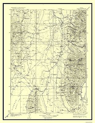USGS 1913-23 x 28.94 Panoche California Quad