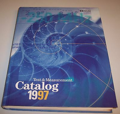 Hewlett Packard  1997  Test & Measurement Catalog Unopened