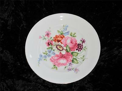 Crown Staffordshire Pin Dish Pink Floral Pattern