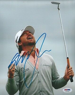"GRAEME McDOWELL signed 8""x10"" photo PSA/DNA #2"