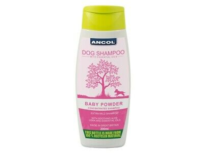 Ancol BB shampoo & conditioner for dogs, Baby powder smell,