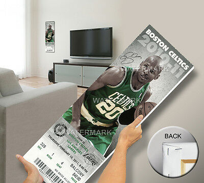Ray Allen NBA 3 Point Record Mega Ticket - Boston Celtics