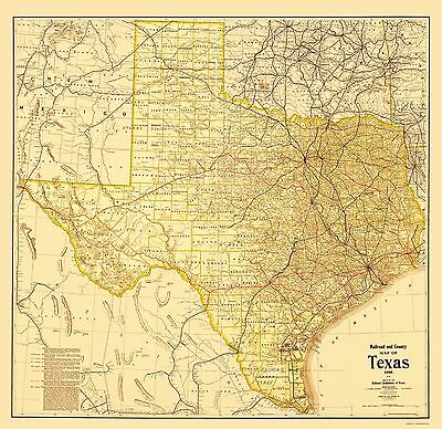 Old State Map New Map Of Mexico And Texas 1840 23 X 33 59