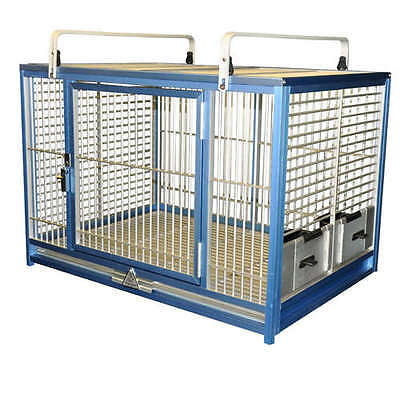 Kings Cages Parrot Bird LARGE ALUMINUM TRAVEL CAGE ATM2029 bird toy toys