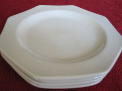 LOT OF 4 J & G MEAKIN ROYAL STAFFORDSHIRE LIBERTY WHITE BREAD PLATES