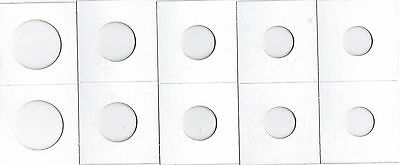 1000 Assorted Size 2X2 Cardboard/Mylar Coin Holders Flips* You Pick * New * M21*