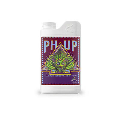 Advanced Nutrients pH Up 4L - Water Adjuster Additive Alkaline Acidity, 4 Liters