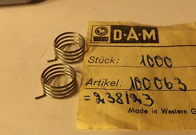 Neuf Quick Bail Spring PN # 100 063 FITS 220,101,103,230,280 2 New Old Stock D.A.M