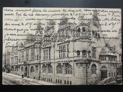 Oxford: Town Hall c1911