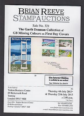 GB Missing Colours on First Day Covers catalogue of the finest collection ever
