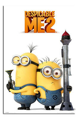 Despicable Me 2 Large Movie Wall Poster New - Laminated Available