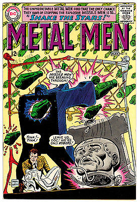 Metal Men #12 9.0 White Pages Silver Age