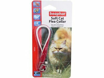 Beaphar  Flea Collar for cats, assorted colours, assorted finishes