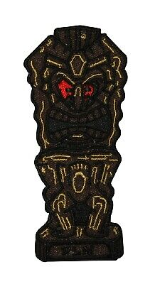 Ancient Tiki Patch Wooden Carving Dean Lee Norton Embroidered Iron On Applique