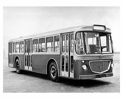 1967 Lancia Esagamma 718 Bus Factory Photo ub3916-VR9C9J