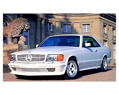 1987 Mercedes Benz AMG 500SEC W126 Automobile Photo Poster zc2781-5GX1TL