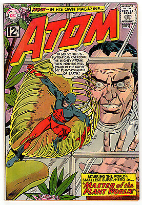 The Atom #1 4.0 Off-White To White Pages Silver Age