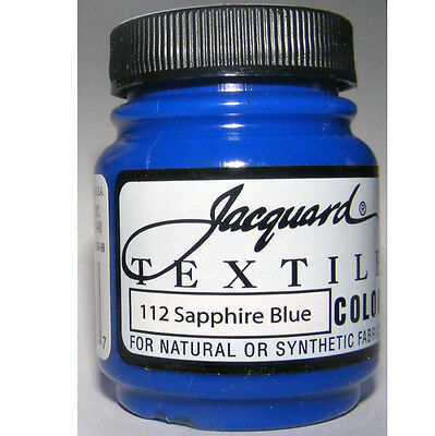 ''sapphire' ' Natural Or Synthetic Fabric Paint