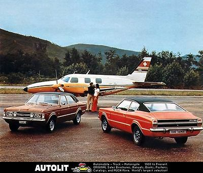 1973 Ford Taunus GT GXL Automobile Photo Poster zc2974-3EYFL5
