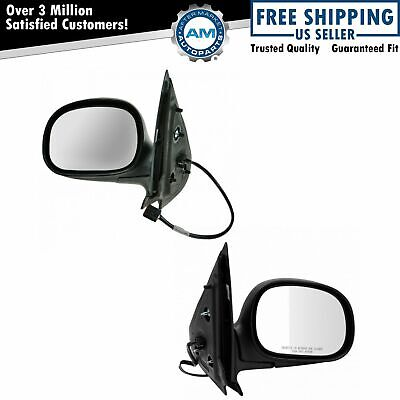 Power Heated Folding Mirror Left & Right Pair Set for 97-02 Ford Expedition
