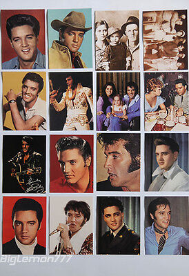 ELVIS PRESLEY Set of 16 Postcard #4