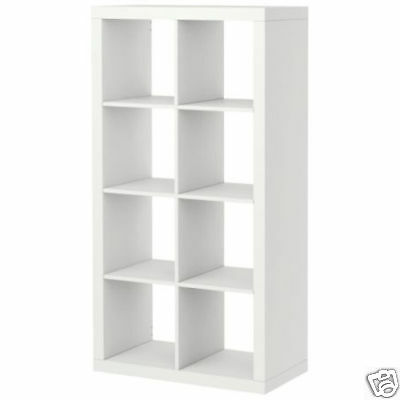 New Ikea Expedit Shelving Unit Bookcase Display Shelf White Room Divider