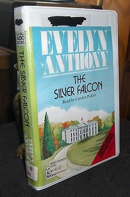 The Silver Falcon by Evelyn Anthony / Carolyn Pickles Unabridged Audio Cassettes