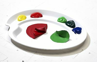 MIJELLO ELLIPSE PEEL-OFF ACRYLIC & OIL PALETTE - 19cm x 26cm - SALE CLEARANCE