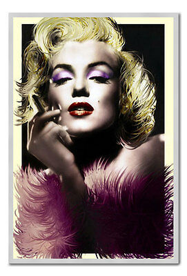 Framed Marylin Monroe Art Deco Style Poster Ready To Hang Frame New