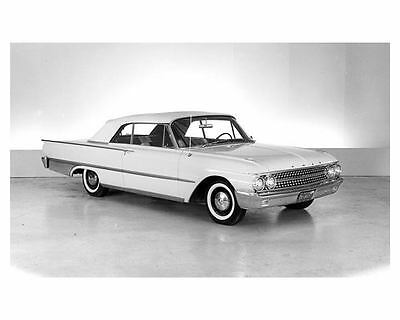 1961 Ford Sunliner Galaxie Convertibe Factory Photo ub5134-ALQCVR