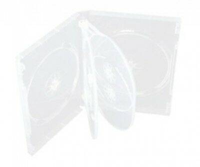 10 Clear 6 Disc DVD Cases