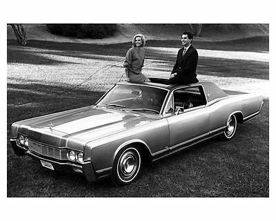 1967 Lincoln Continental Factory Photo ub5235-JD5O3G