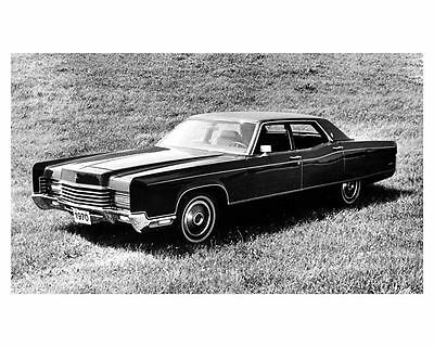 1970 Lincoln Continental Factory Photo ub5263-VB15GE