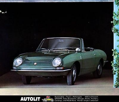 1968 Fiat 850 Spider Automobile Photo Poster zc3182-G8OCPE