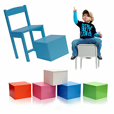 30cm Childrens Cajon Chair Hand Drumming Beatboxing Stool Kids Music Furniture