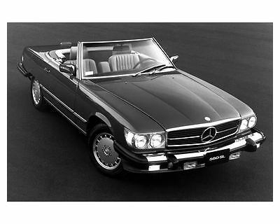 1988 Mercedes Benz 560SL Automobile Photo Poster zub3978-2AD2XF