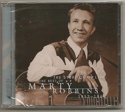 "MARTY ROBBINS, CD ""THE STORY OF MY LIFE"" 1952-1965, NEW"