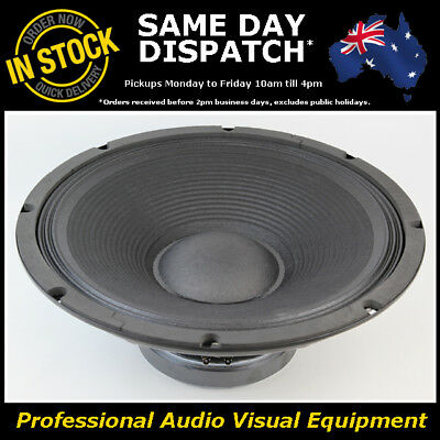"15"" 400WRMS 4 Ohms PA DJ Speaker Subwoofer Sub Driver 15 Inch Quality Woofer"