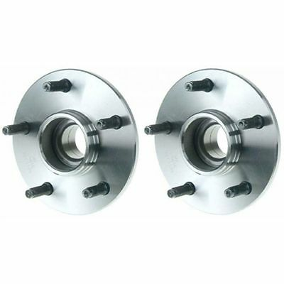 Front Wheel Hubs & Bearings Pair Set of 2 NEW for 00-01 Ram 1500 Truck 2WD 5 Lug