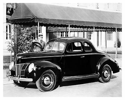 1940 Ford Coupe Automobile Photo Poster zub4185-A4LPVV