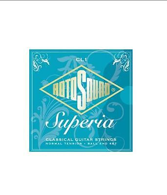 Rotosound CL1 Superia Classical Guitar Strings Normal Tension Ball End RRP 7.95