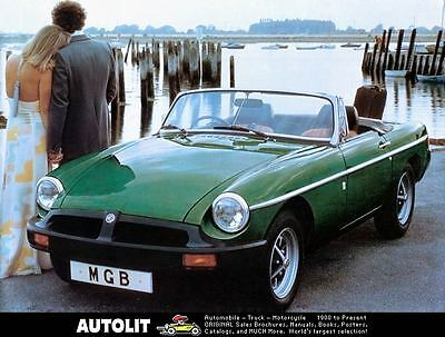 1978 MG MGB Automobile Photo Poster zc3435-CAGUC2