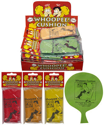 Classic Whoopee Cushion Kids Prank Joke Toy - Great Party Bag Filler!