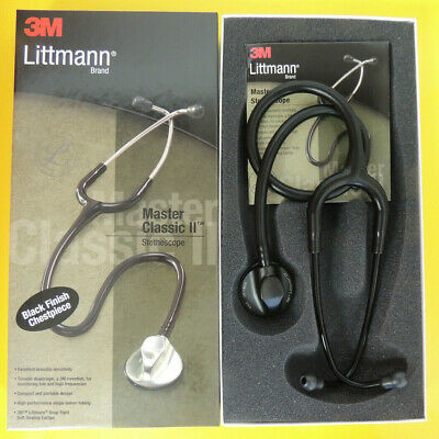 "#2141 3M LITTMANN MASTER CLASSIC II BLACK EDITION 27"" -NIB- All Colors Available"