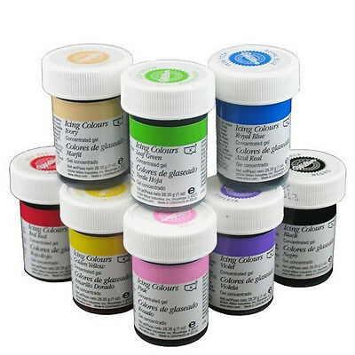 WILTON RED NO Taste Food Coloring Concentrated Paste 1oz Icing/Cakes ...