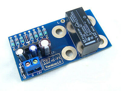 Dual channel UPC1237 Speaker Protection Board Kit Boot Delay DC Protection