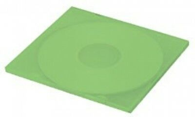 (SAMPLE) - 1 SLIM Green Color Single VCD PP Poly Cases 5MM