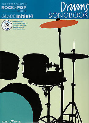 The Faber Rock & Pop Series Drum Grade Initial - 1 Songbook With Cd